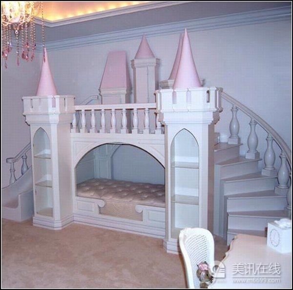 小公主的童话城堡儿童床